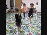 хореография, поклон в конце занятия)