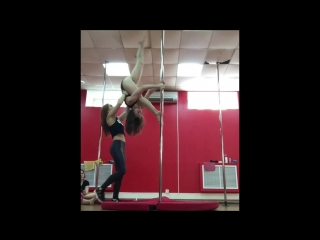 Детский Pole Acrobatic у Яны Сотовой
