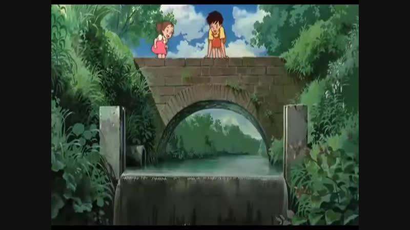 Немного музыки плюс знаменитое аниме Мой сосед Тоторо (1988)