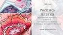 Роспись шёлка Холодный батик Процесс росписи