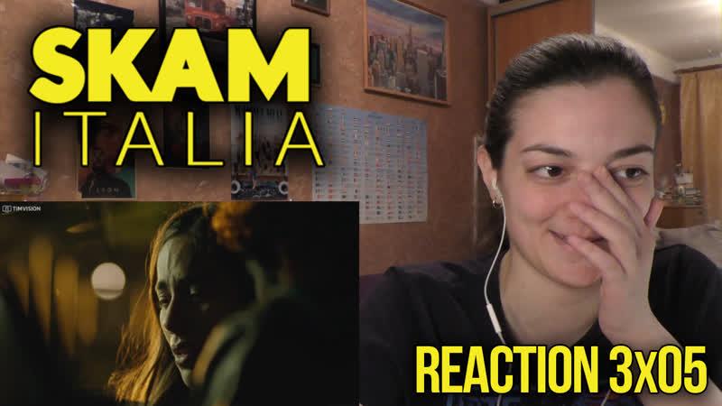 SKAM ITALIA REACTION SEASON 3 EPISODE 5