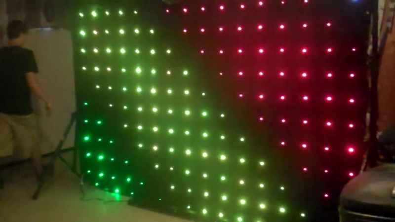 Задник сцены видео экран RGB LED