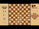 Acca Bizot NLD Edmondo Fanelli ITA Draughts World Championship 1952