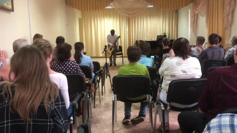 Михаил Нагорнов, овации после концерта
