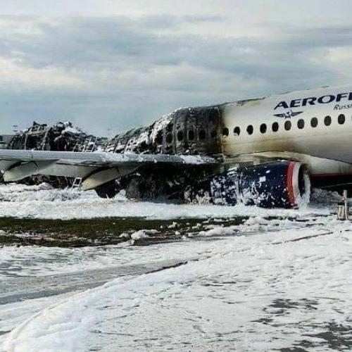 В Мурманской области объявили трёхдневный траур после пожара самолёта в Шереметьево