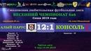 Весенний сезон 6х6-2019. АЛЫЙ ПАРУС - КОНСОЛЬ 12:1 (обзор матча интервью)