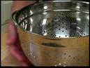 Cooking Tips How to Use a Colander