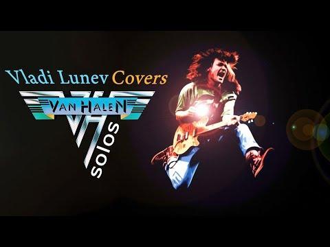 🔴 VAN HALEN - BEST SOLOS Compilation | Covers by Vladi Lunev. Part 3