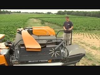 Машина для сбора и сортировки винограда