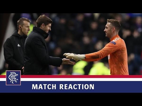 REACTION | Allan McGregor | Rangers 0-0 Villarreal