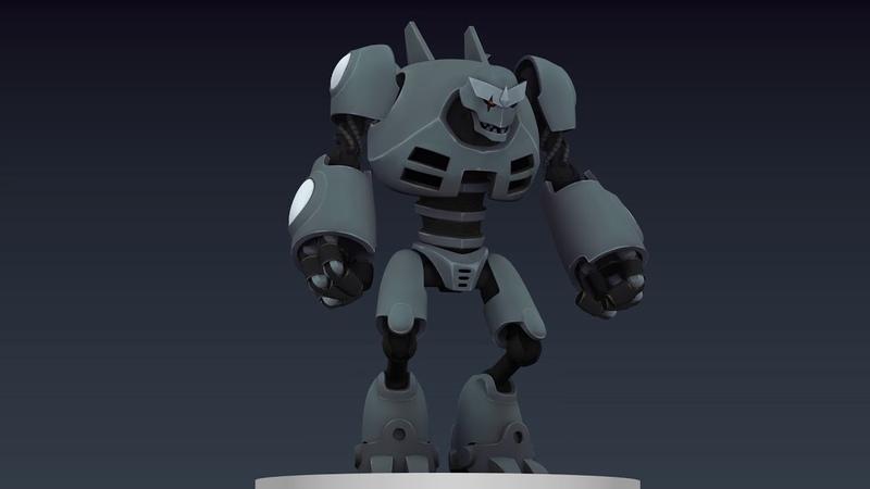Koschei The Deathless - 3D model 360 (viewport render)