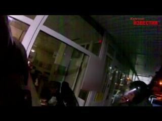 Курск. Грабитель напился и наелся в супермаркете, а после сдался стражам порядка