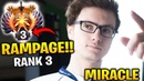 MIRACLE RAMPAGE TOP 3 ALREADY 2 Games PL Dota 2