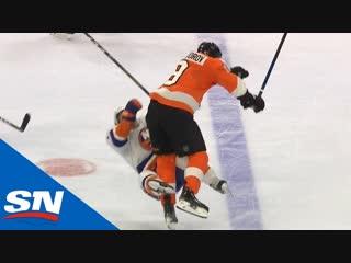 Лучшие силовые приемы четвертой игровой недели   NHL Hits of The Week 4