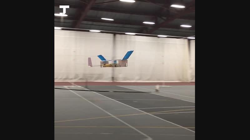 В MIT создали самолёт, летающий без движущихся частей d mit cjplfkb cfvjk`n, ktnf.obq ,tp ldbeob[cz xfcntq