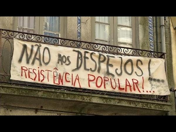 Жители Порту и Лиссабона Нас выживают туристы!