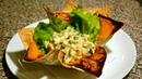 САМ себе ПОВАР Шикарная подача порционных блюд Салат Оливье Elegant serving of a La carte dishes