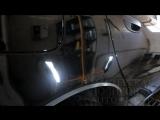 Chevrolet Lanos. Восстановительная полировка.