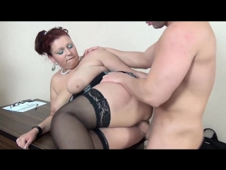 Bbw young but serious