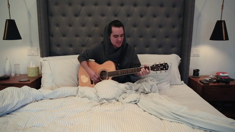 Panic! At the Disco performs Hallelujah in bed | MyMusicRx Bedstock 2016