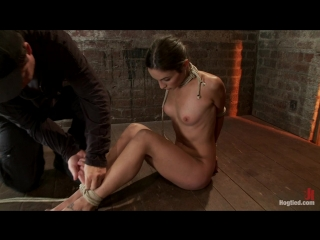 Amber rayne - hogtied.com - kink.com - 2011-12-5 - isis love, amber rayne - 17026 - sexy amber has her elbows bound together, an