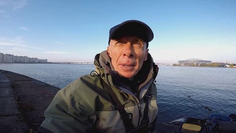 Рыбалка с продукцией ФЛАГМАН. Петровская коса и Большая Невка . Осень 2018 г.
