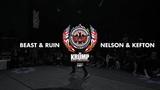 Kefton &amp Nelson Vs Ruin &amp Beast Exhibition Battle EBS KRUMP WORLD CHAMPIONSHIP 2018