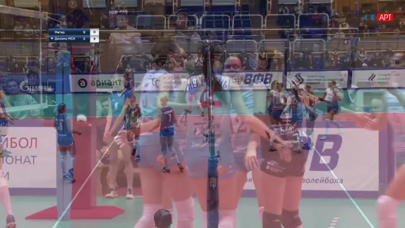Волейбол Женщины Суперлига Метар - Динамо_Москва 05_01_2019