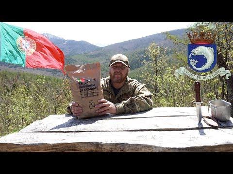 *Обзор ИРП* Суточный сухой паек ВМС Португалии Portuguese NAVY 24H food ration
