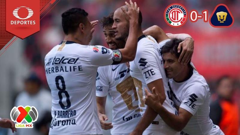 Mexico | Toluca 0 - 1 Pumas | A 2018 - J 16 | Liga MX