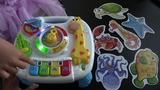 Portable Baby Toy Musical Learning Table Early Education Music Activity Center