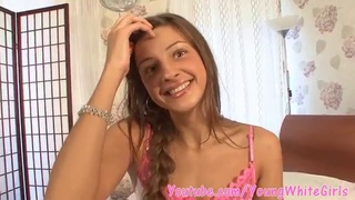 Interview with a horny 18 year old Russian girl who's got sex on her mind