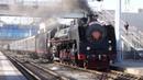 В Ростов на Дону прибыл уникальный ретро поезд Золотой Орёл