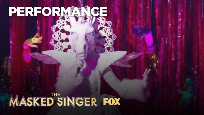The Unicorn Performs Oops!... I Did It Again | Season 1 Ep. 3 | THE MASKED SINGER