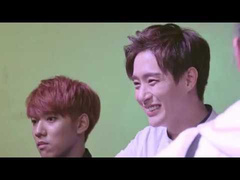 FANCAM I miss you Minwoo oppa 'Time Leap' promotion