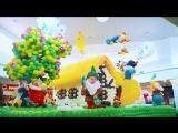 15.09.2018 г. Белоснежка и 7 гномом из 92 000 воздушных шаров в ТРЦ Красная Площадь, г. Анапа