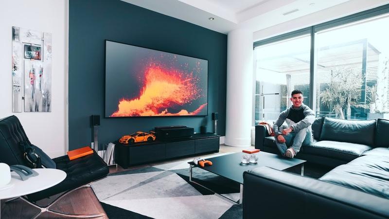 My MODERN TECH Living Room Tech Setup Tour - 2019 EDITION