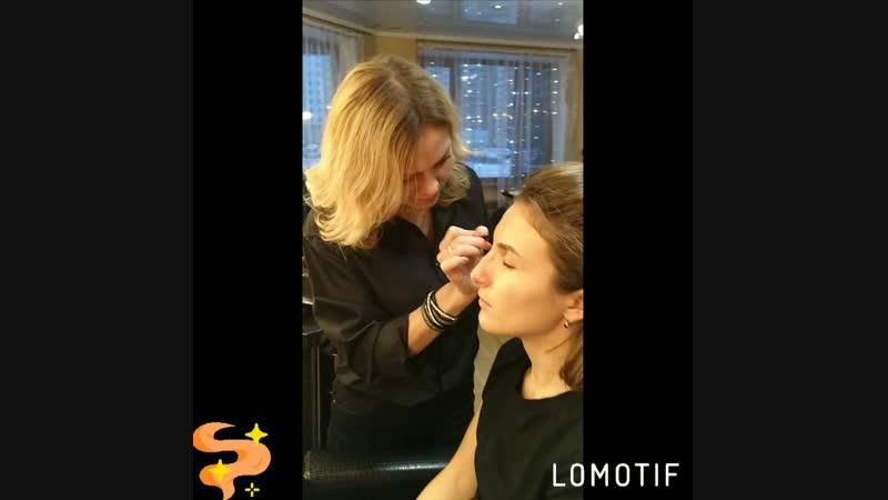 Экспресс макияж для Юлии