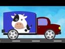 Песенки для Детей Машина едет Далеко Мультик про Машинки Песенка про машинки