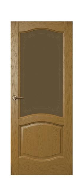 Дверь Дриада, дуб капри