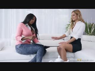 Aspen Rose  Diamond Jackson [HD 1080, Big Tits, Blonde, Bubble Butt, Ebony, Les