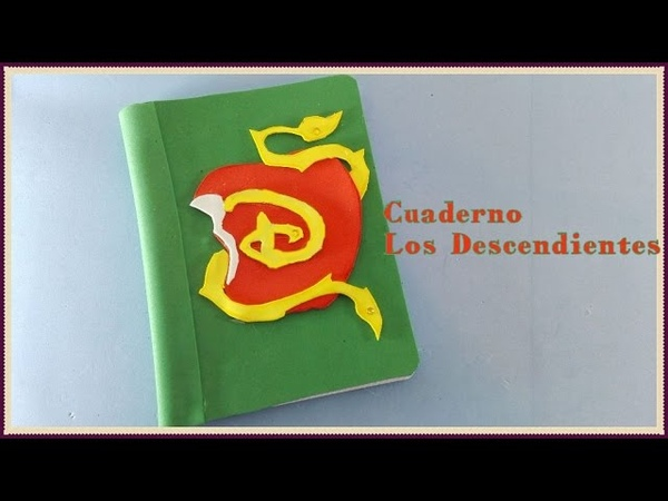 Los Descendientes Manzana CUADERNO