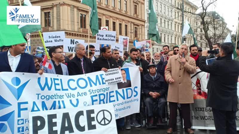 Pakistan Zindabad Peace Rally | Family Friends | All Pakistan Press Club Austria | Abdul Faheem