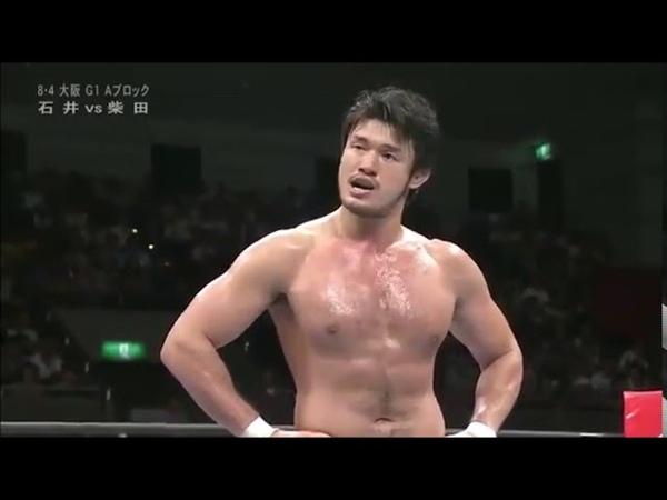 Katsuyori Shibata vs Tomohiro Ishii but everytime they hit each other its Moms Spaghetti
