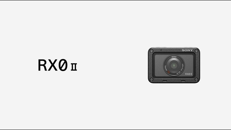 Sony | Cyber-shot | RX0 II | Product Feature