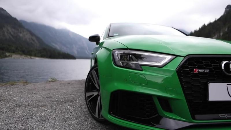 2018 AUDI RS3 SEDAN (400hp_480NM,5Cyl) - Viper green metal
