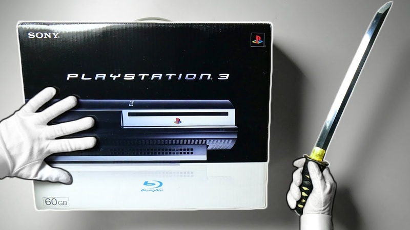PS3 UNBOXING! Original Playstation 3 Fat Console 60GB PS2 Backwards Compatible