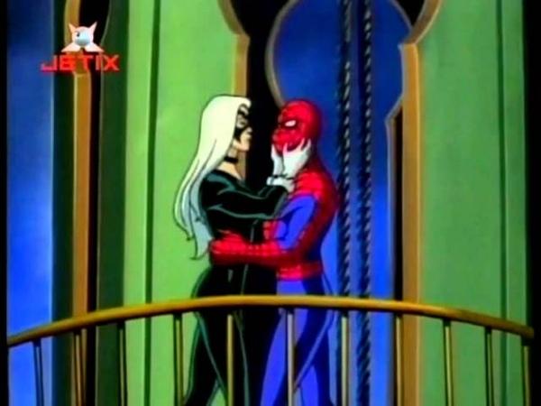 Ээээх человек паук ... такую девку упустил...