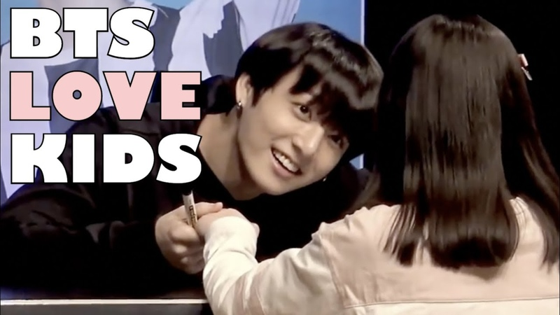 BTS Love Kids | Cute Funny Moments!