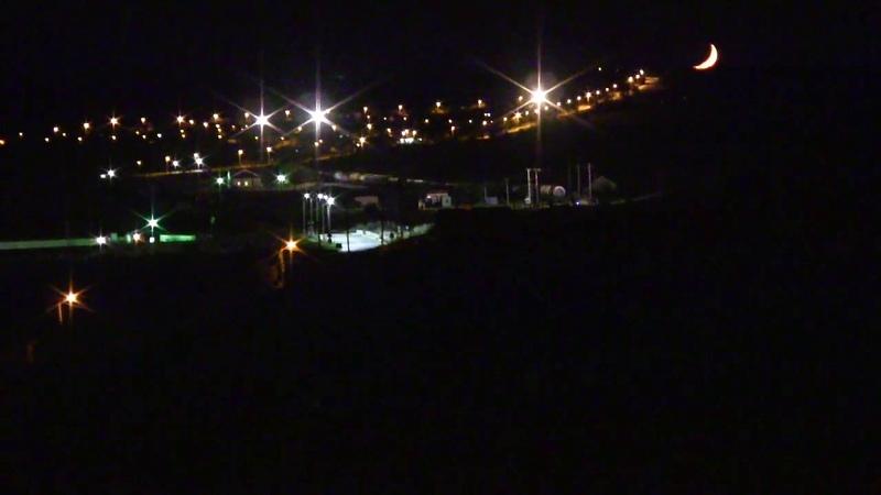 Керченская пролив Новая луна уходит в крымскотатарский п Джаныкой